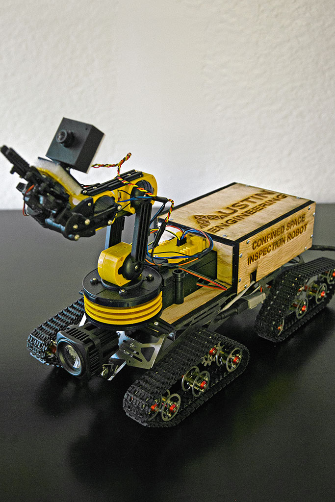 Austin Engineering Research and Development Robot
