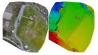 Drone survey photogrammetry