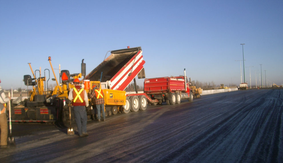Anthony Henday Overpasses Deck Paving